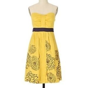 Anthropologie FLOREAT Natural Sunlight Dress 6